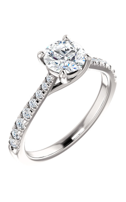 Stuller Sidestone Engagement Ring 123230 product image