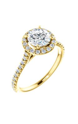 Stuller Halo Engagement Ring 122870 product image