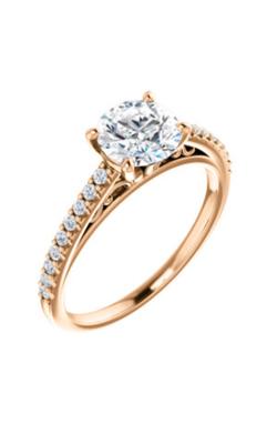 Stuller Sidestone Engagement Ring 122838 product image