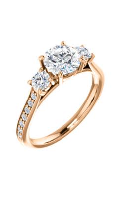 Stuller Three Stone Engagement Ring 122875 product image