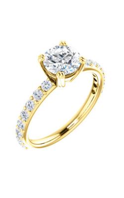 Stuller Sidestone Engagement Ring 122188 product image