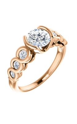 Stuller Sidestone Engagement Ring 121996 product image