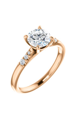 Stuller Sidestone Engagement Ring 123001 product image