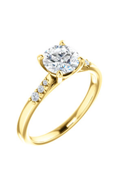 Stuller Sidestone Engagement Ring 123001 product image