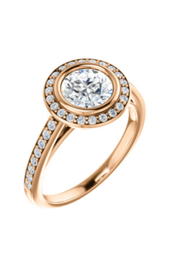 Stuller Halo Engagement Ring 122052 product image