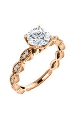 Stuller Sidestone Engagement Ring 123134 product image