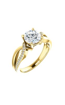 Stuller Sidestone Engagement Ring 122665 product image
