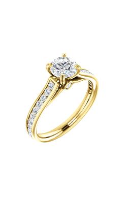 Stuller Sidestone Engagement Ring 122090 product image