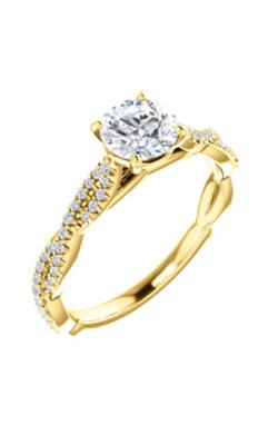 Stuller Sidestone Engagement Ring 123021 product image