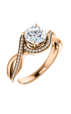 Stuller Halo Engagement Ring 123023 product image