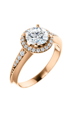 Stuller Halo Engagement Ring 122699 product image