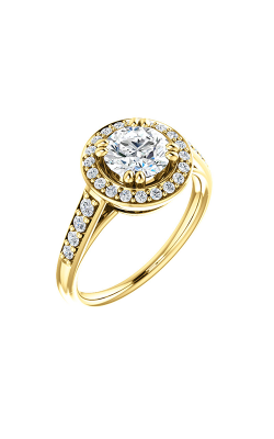 Stuller Halo Engagement Ring 122207 product image