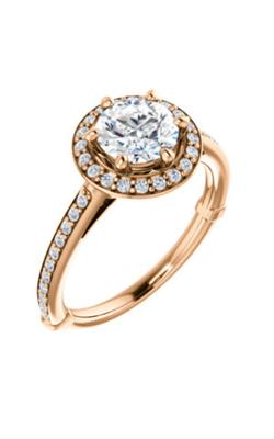 Stuller Halo Engagement Ring 122179 product image