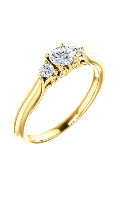 Stuller Three Stone Engagement Ring 124157 product image