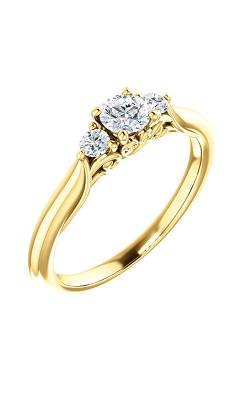 Stuller Three Stone Engagement Ring 124157 product image