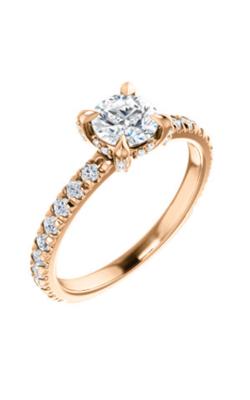 Stuller Sidestone Engagement Ring 124131 product image
