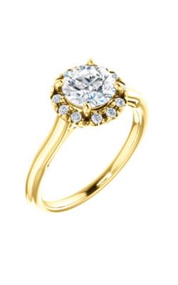 Stuller Halo Engagement Ring 123928 product image