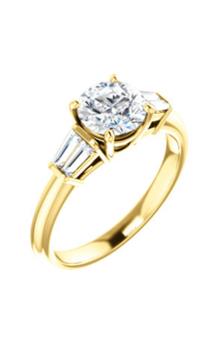 Stuller Three Stone Engagement Ring 122394 product image