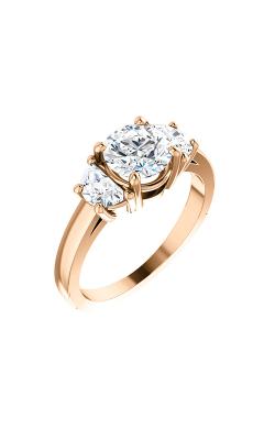 Stuller Three Stone Engagement Ring 122104 product image