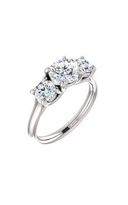 Stuller Three Stone Engagement Ring 122105 product image