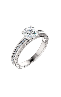 Stuller Sidestone Engagement Ring 122045 product image