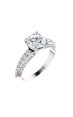 Stuller Sidestone Engagement Ring 122219 product image