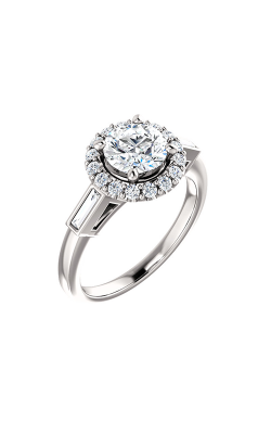 Stuller Halo Engagement Ring 122884 product image