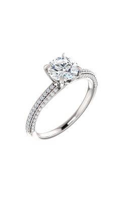 Stuller Sidestone Engagement Ring 123253 product image