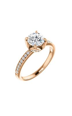 Stuller Sidestone Engagement Ring 122044 product image
