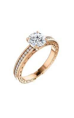 Stuller Sidestone Engagement Ring 122045 product image