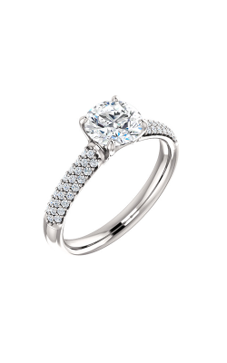 Stuller Sidestone Engagement Ring 122216 product image