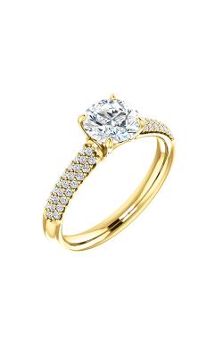 Stuller Sidestone Engagement Ring 122216 product image