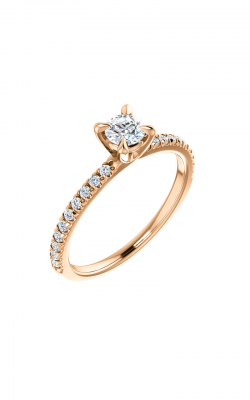 Stuller Sidestone Engagement Ring 123450 product image