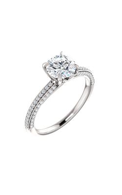 Stuller Sidestone Engagement Ring 123253 product image