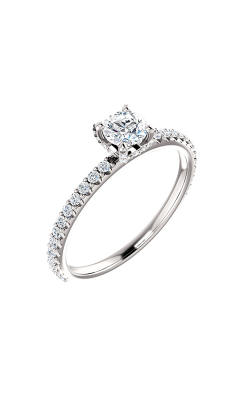 Stuller Sidestone Engagement Ring 122996 product image