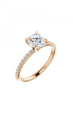 Stuller Sidestone Engagement Ring 122790 product image