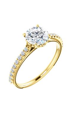 Stuller Sidestone Engagement Ring 122993 product image