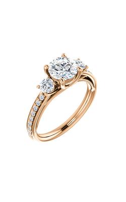 Stuller Three Stone Engagement Ring 122000 product image