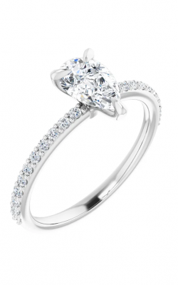 Sharif Essentials Collection Accented Engagement Ring 122790 product image