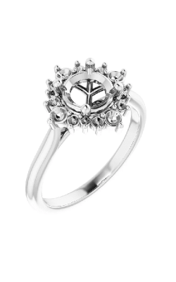 Princess Jewelers Collection Halo Engagement Ring 124470 product image
