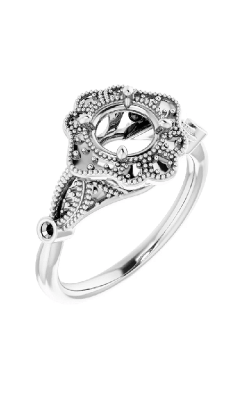 Princess Jewelers Collection Halo Engagement Ring 123884 product image