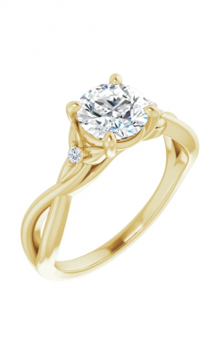 Princess Jewelers Collection Accented Engagement Ring 124154 product image