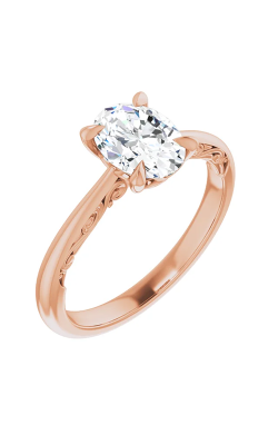 Stuller Solitaire Engagement Ring 124184 product image