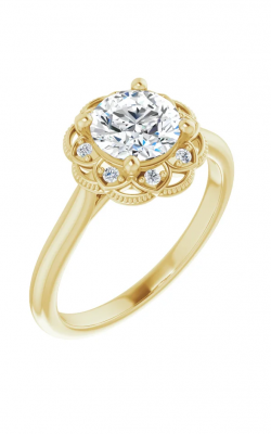 Sharif Essentials Collection Halo Engagement Ring 124282 product image