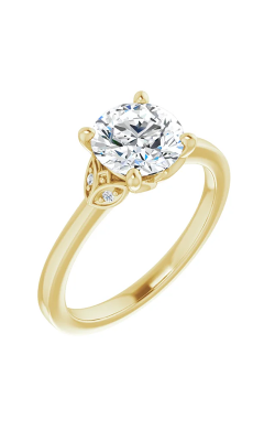 Sharif Essentials Collection Accented Engagement Ring 124379 product image