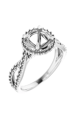 Stuller Halo Engagement Ring 124435 product image