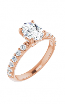 Princess Jewelers Collection Accented Engagement Ring 123648 product image