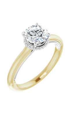 Sharif Essentials Collection Accented Engagement Ring 123599 product image