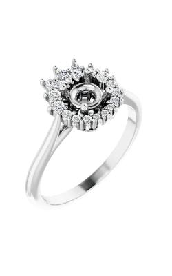 Stuller Halo Engagement Ring 123769 product image