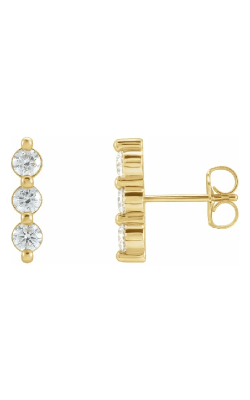 Fashion Jewelry By Mastercraft Diamond Earring 87148 product image